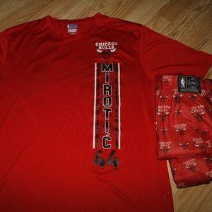 Chicago Bulls shirt and Pajama